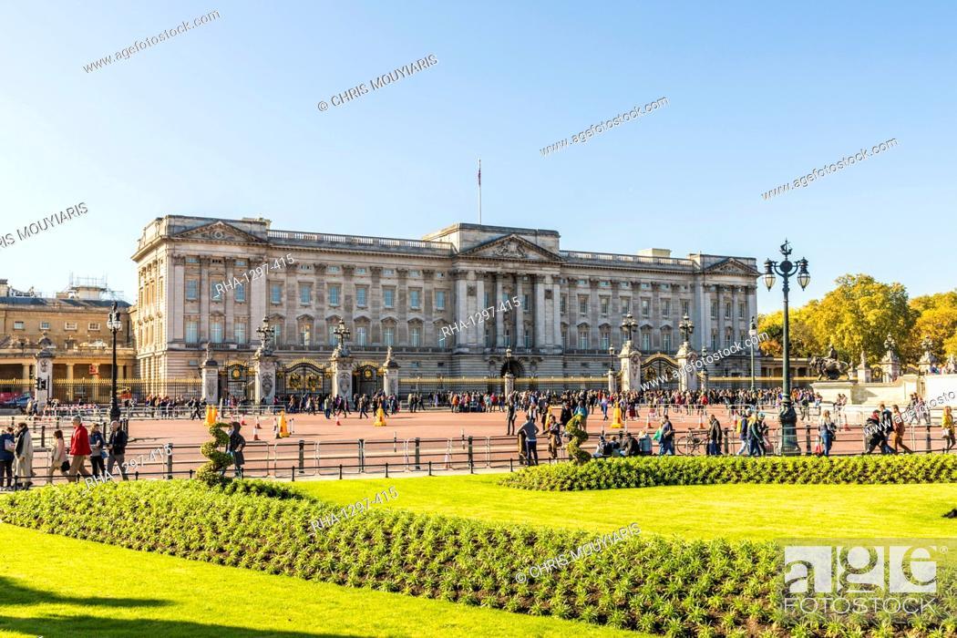 Imagen: Buckingham Palace, London, England, United Kingdom, Europe.