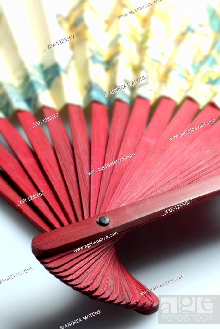 Stock Photo: Chinese hand fan.