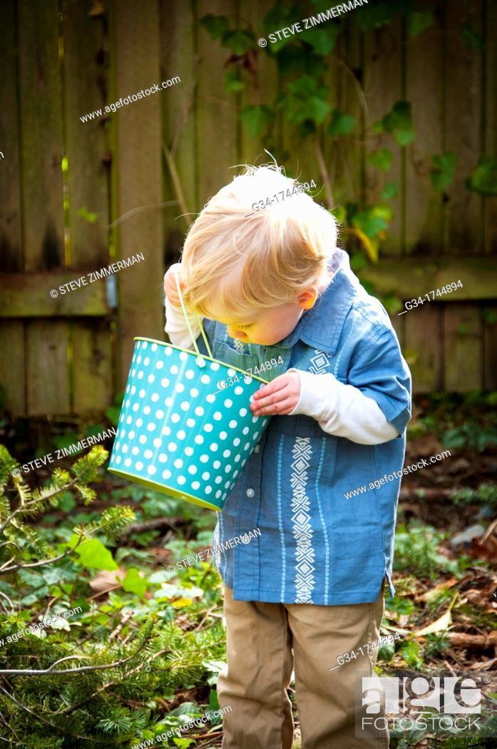 Stock Photo: Kid Curiosity.