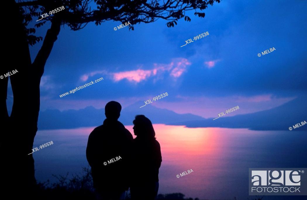 Stock Photo: Lake Atitlan  Guatemala.