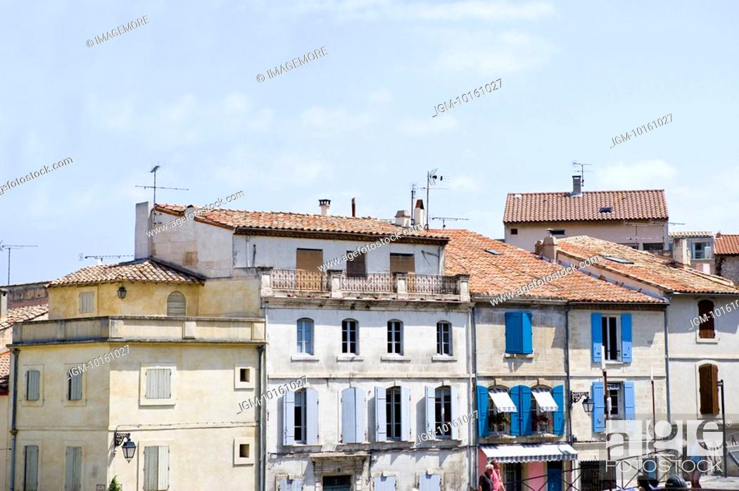 Stock Photo: City View in Arles, Provence-Alpes-Cote d'Azur, France.