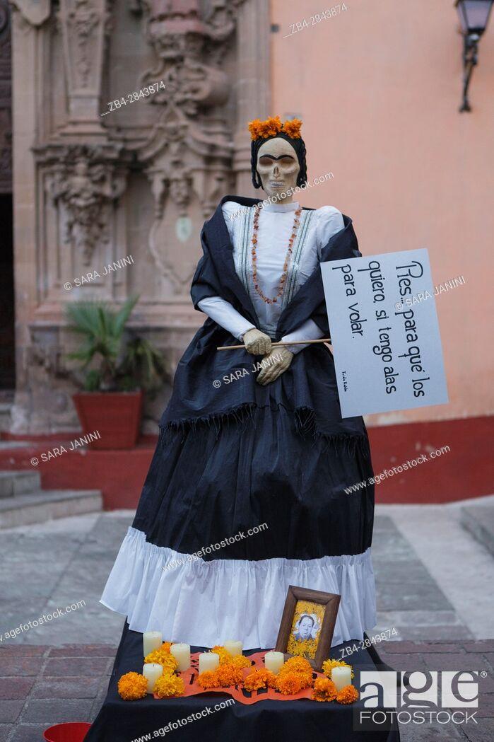 Stock Photo: Guanajuato, Estado de Guanajuato, México, América.