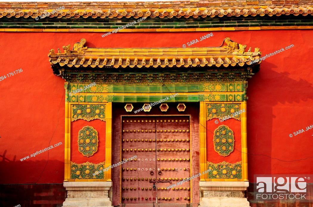 Stock Photo: Forbidden City, Beijing, China, Asia.