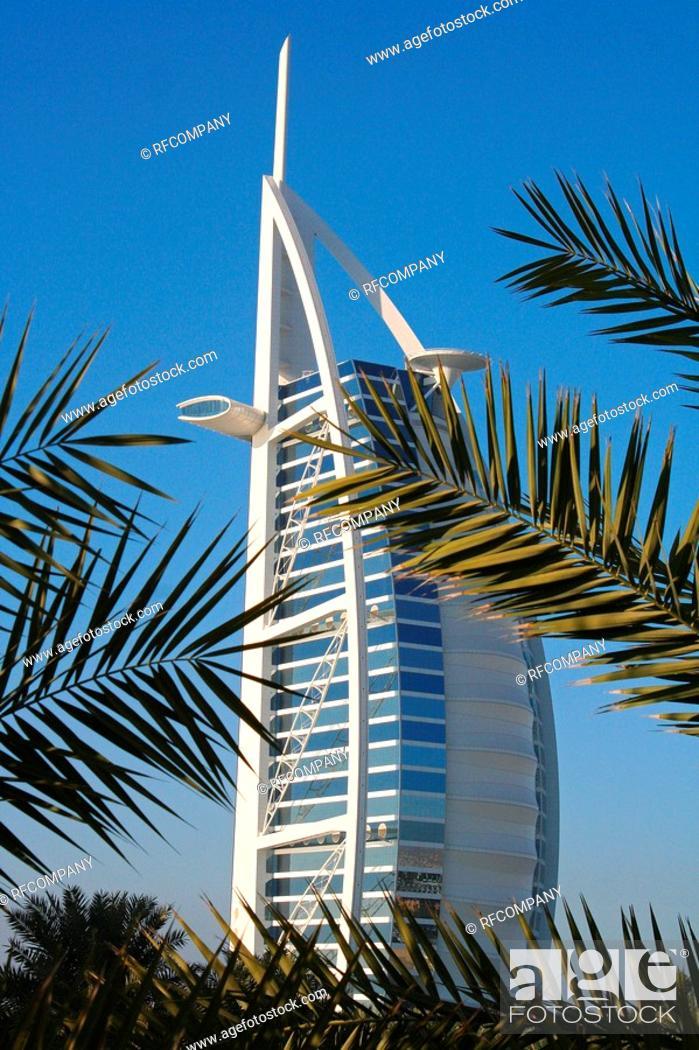 Stock Photo: Dubai - Burj Al Arab.