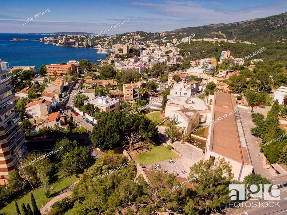 Stock Photo: Fundació Pilar i Joan Miró , Palma, Mallorca, balearic islands, spain, europe.