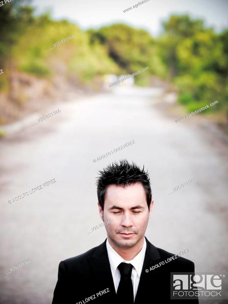 Stock Photo: Businessman.
