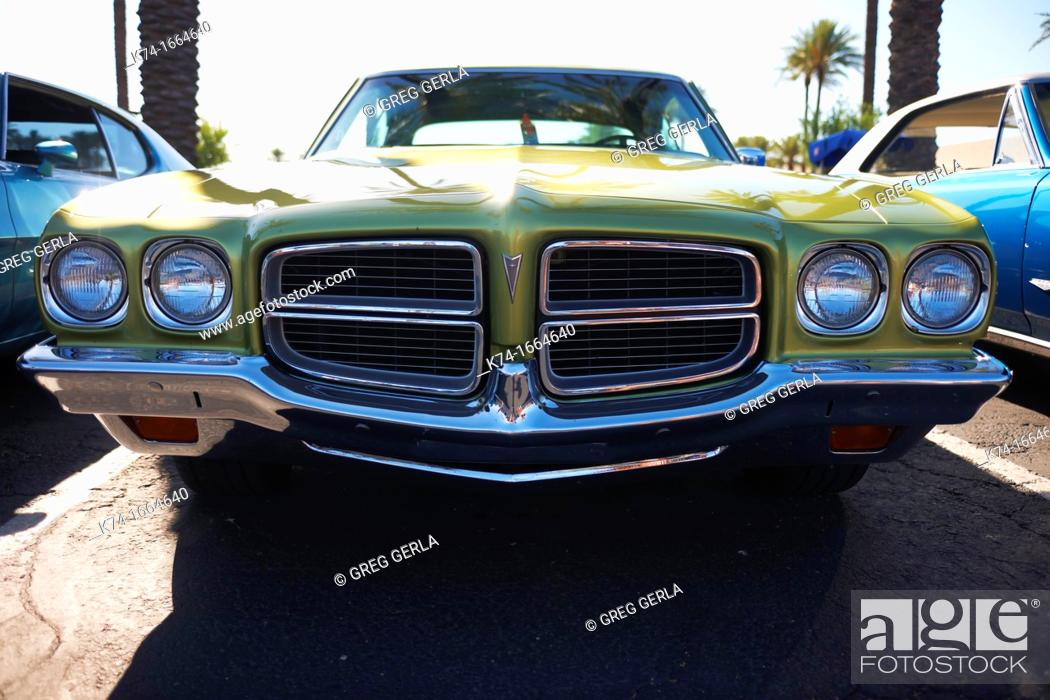 Stock Photo: vintage automobile.