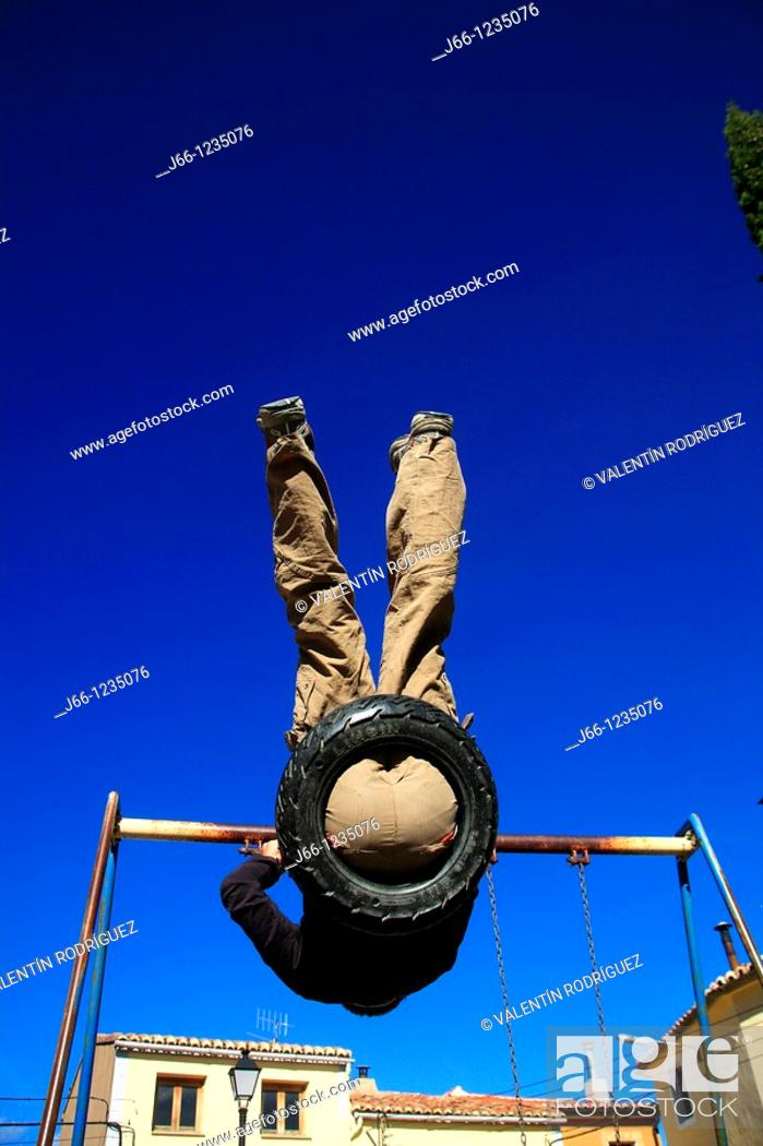 Stock Photo: Swing.