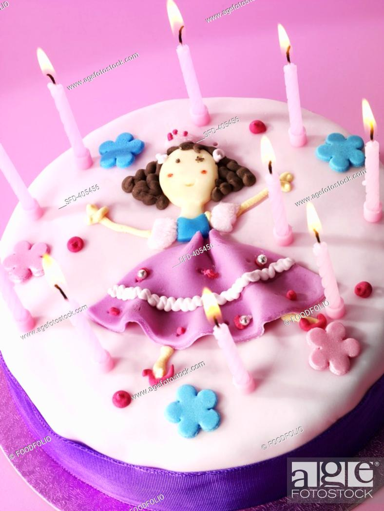 Birthday Cake For A Little Girl Not Available Exclusive Usages
