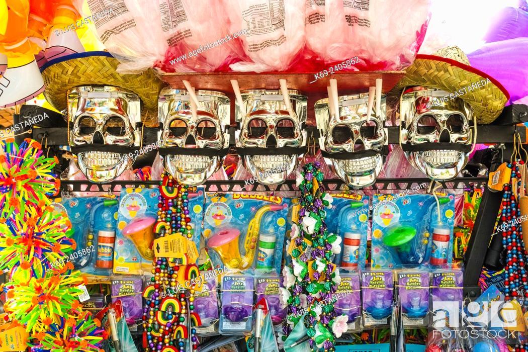 Stock Photo: Carnival Things. Little Havana. Calle Ocho. Miami. Florida. USA.