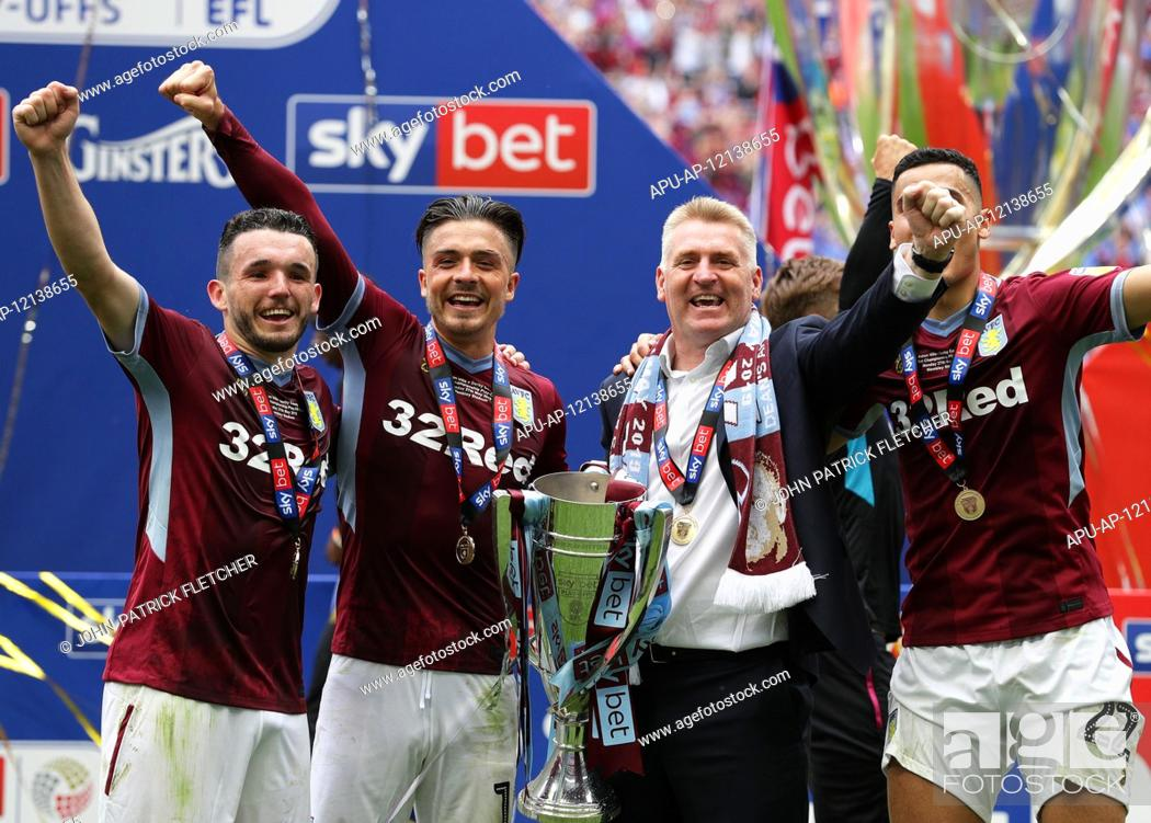 Imagen: 2019 EFL Championship Playoff final Aston Villa v Derby County May 27th. 27th May 2019, Wembley Stadium, London, England; Championship Playoff final.