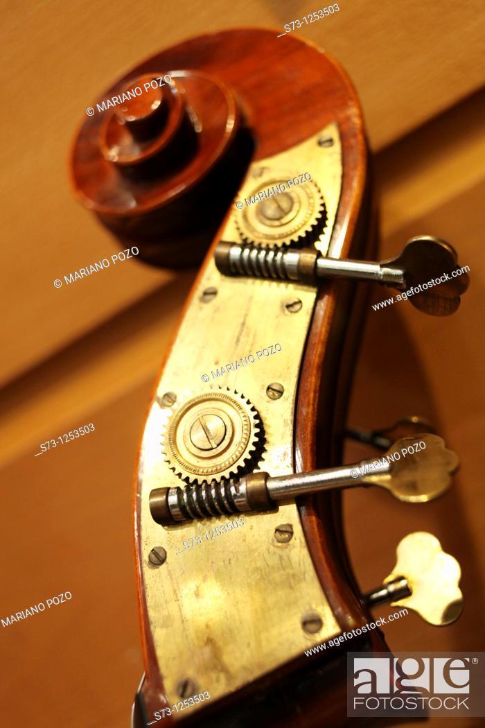 Stock Photo: Detail of Cello.