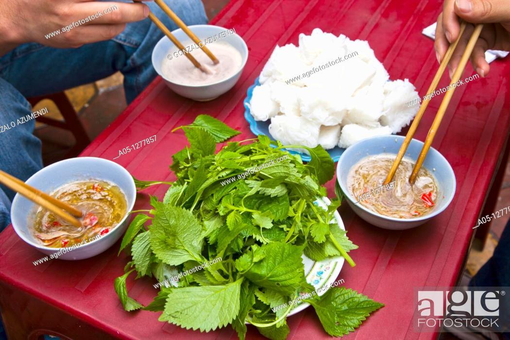 Stock Photo: Gastronomy HANOI  VIETNAM.