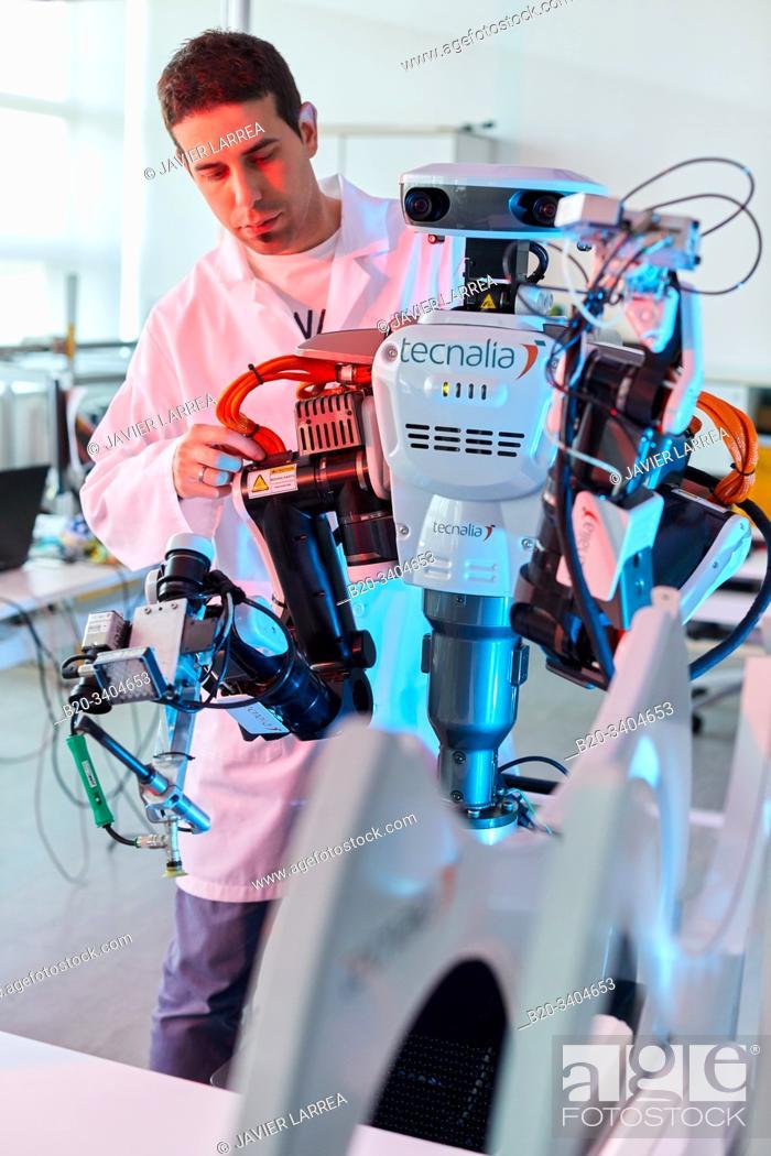 Imagen: Robot Autonomy for Flexible Manufacturing, Collaborative robotic, Advanced manufacturing Unit, Technology Centre, Tecnalia Research & Innovation, Donostia.