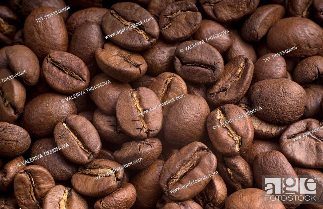 Stock Photo: Coffee beans.