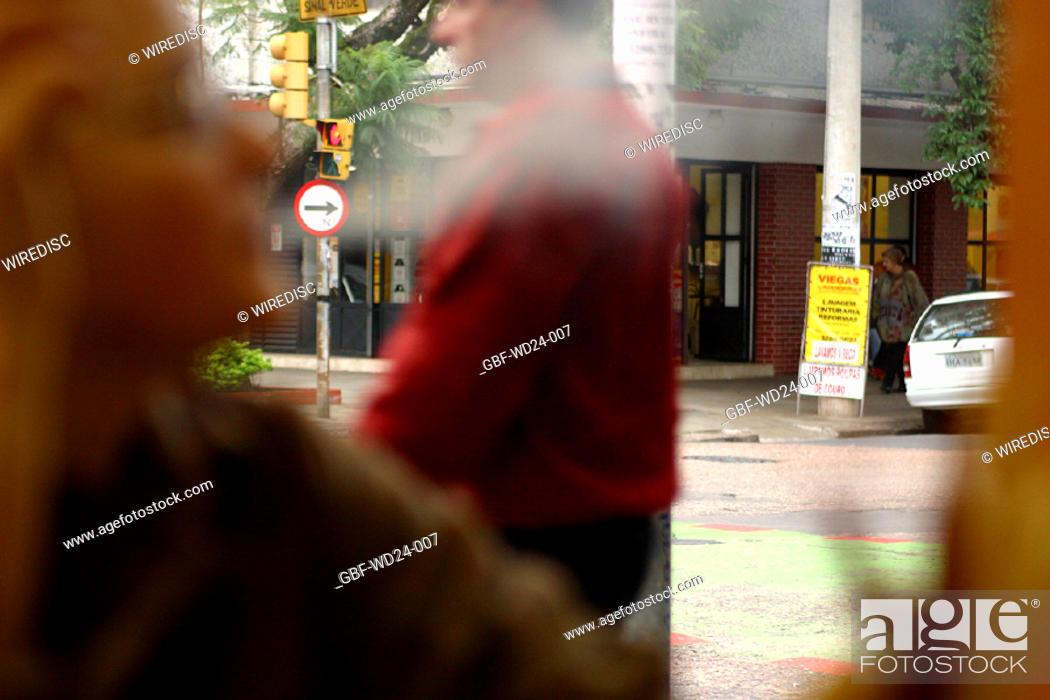 Stock Photo: People, trade, street,.