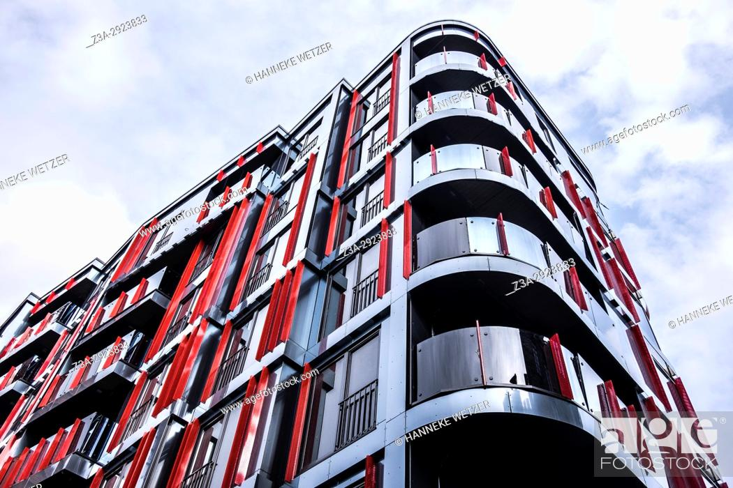 Imagen: Modern architecture in Rotermann City in Tallinn, Estonia, .