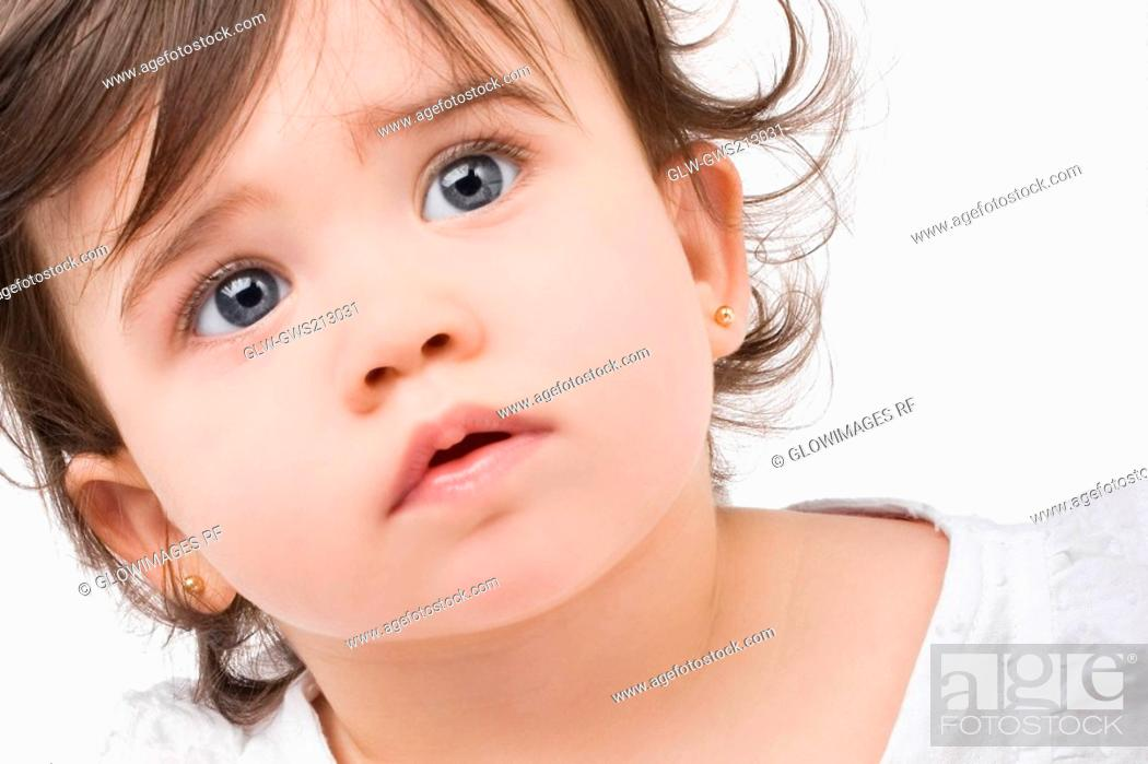 Stock Photo: Close-up of a girl.