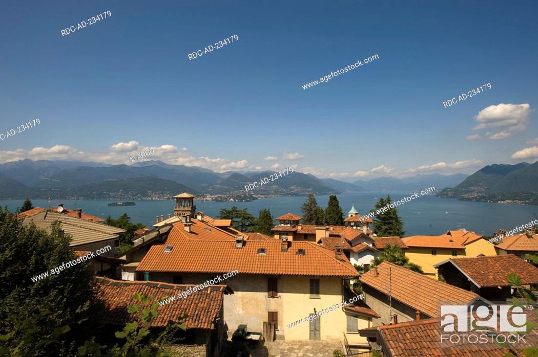 Stock Photo: Stresa, Lago Maggiore, Piemont, Italy.