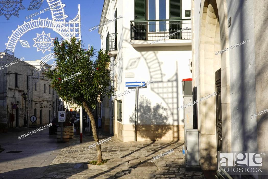 Stock Photo: Ginosa, Puglia, Italy.