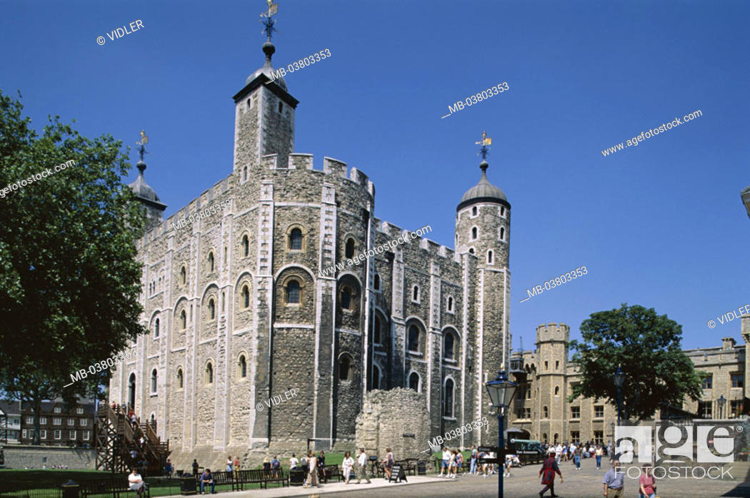 Great Britain, England, London, Tower of London, White-Tower