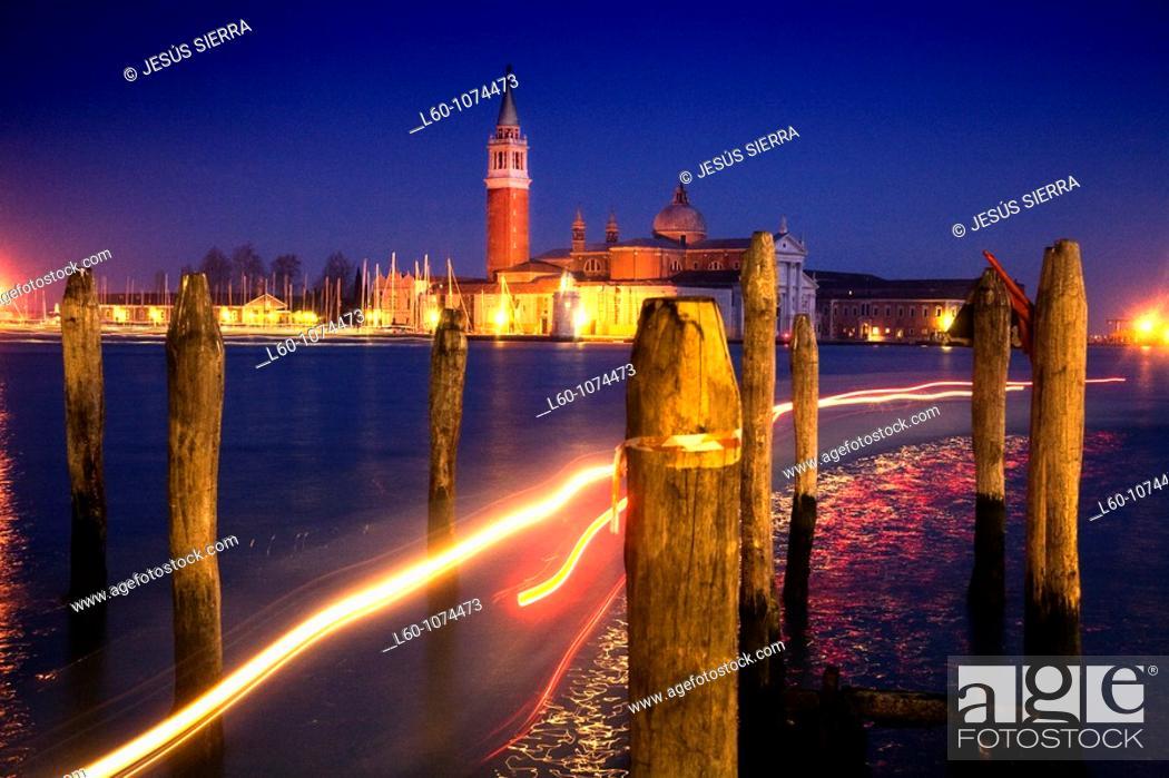 Stock Photo: Canal  Venice, Italy.