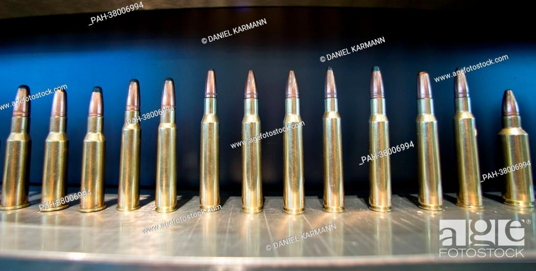 Bullets from the manufacturer Sako from Finland are showwn during