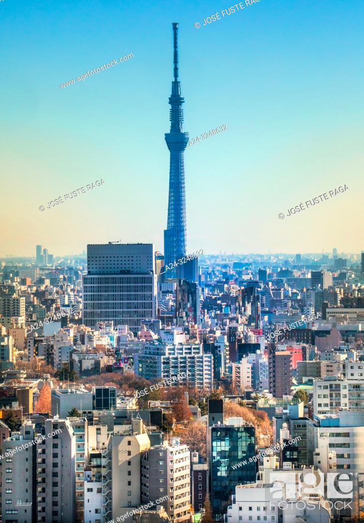 Imagen: Japan, Tokyo City, Skytree Tower.