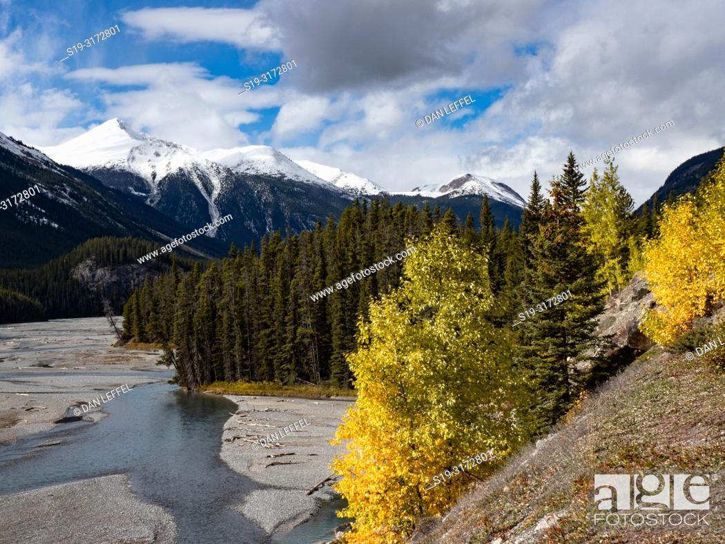Imagen: Canadian Rockies. Icefields Parkway.