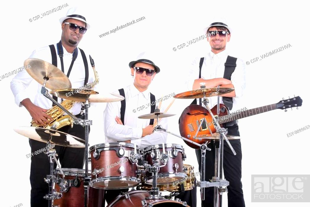 Stock Photo: Music Band.