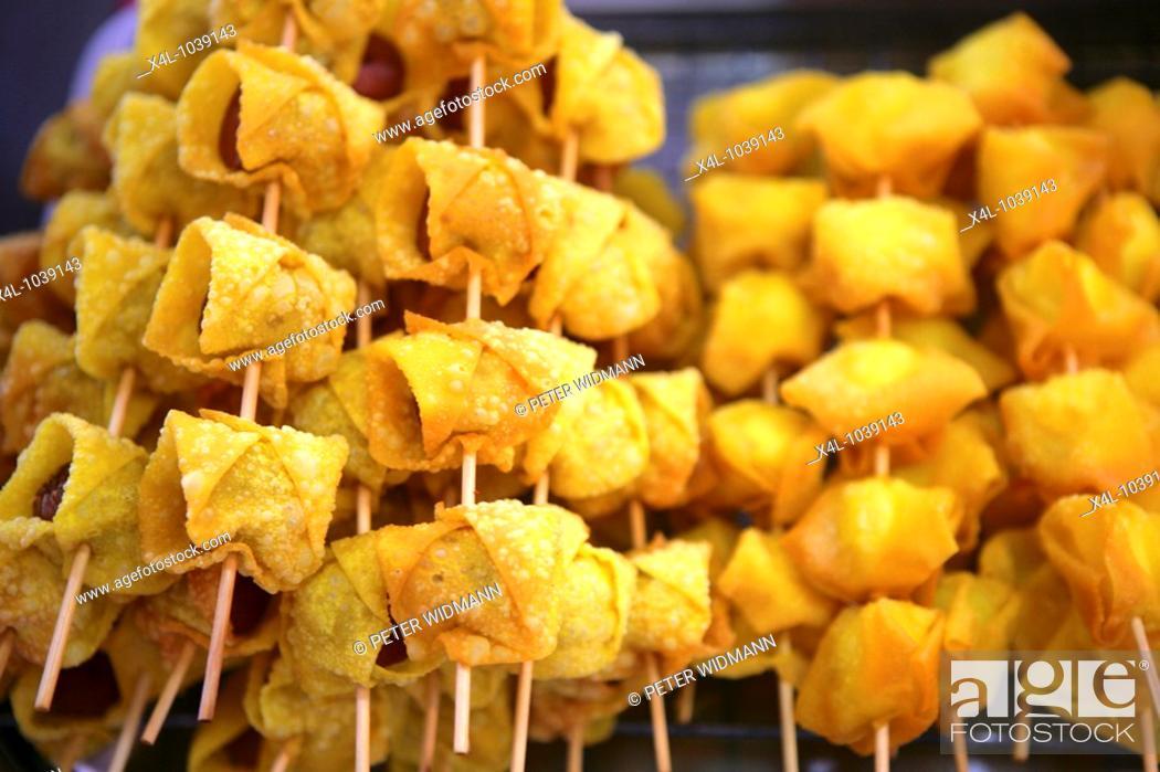 Stock Photo: Thaifood, Thai Food, verkaufen, Verkauf, Einkauf, Essen, Farbe, Maerkte, Markt, Marktstand, bunt, einkaufen, Asien, Südostasien, Thailand, Verkauf, Einkauf.