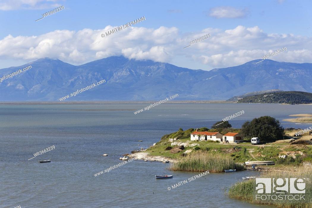 Stock Photo: Turkey, View of Dilek peninsula.