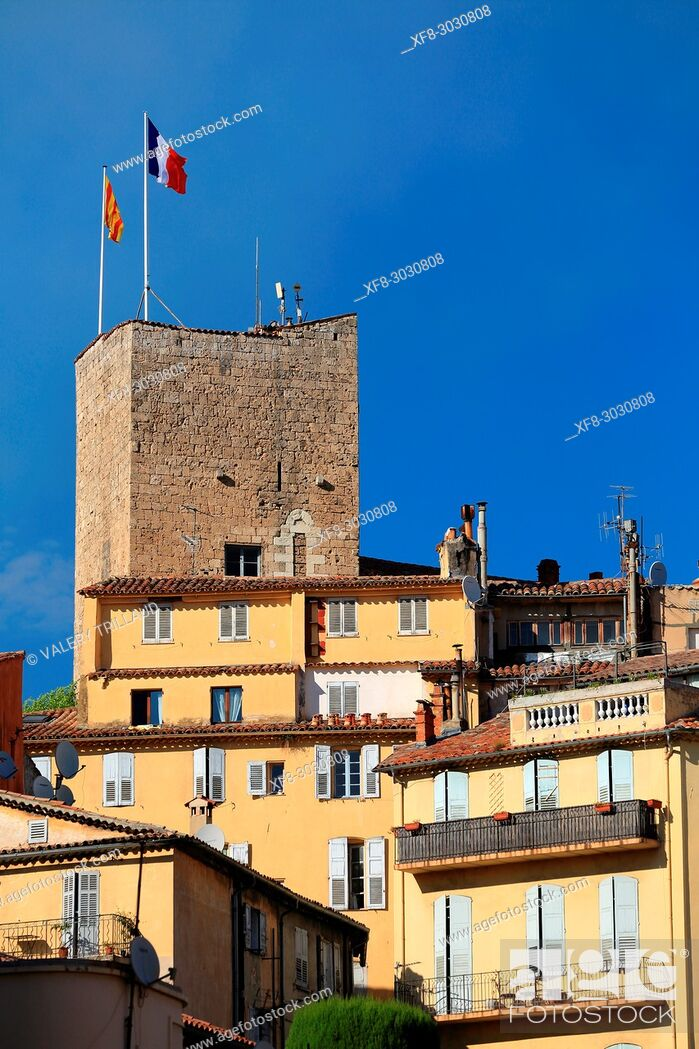 Stock Photo: Townscape, Grasse, Alpes-Maritimes, 06, cote d'Azur, PACA, France.