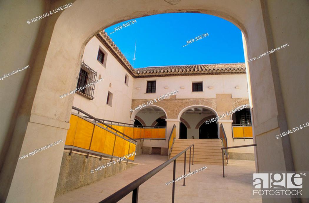Stock Photo: Cehegín. Casa de la Tercia. XVIIIth century. Murcia province. Spain.