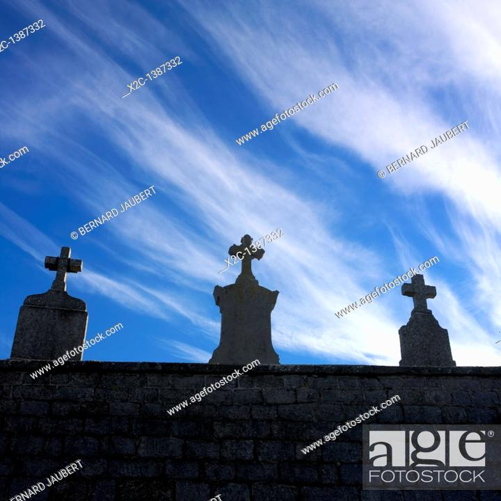 Stock Photo: Cross of cimetery.
