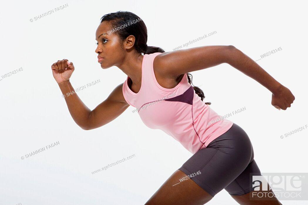 Stock Photo: Athlete.