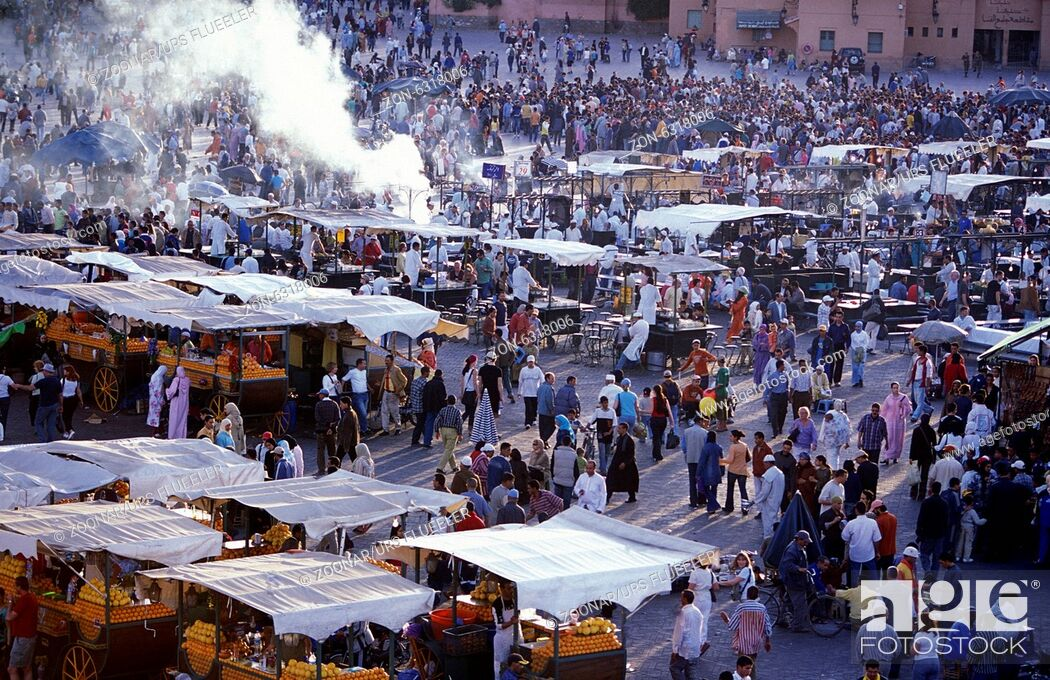Stock Photo: AFRICA MOROCCO MARRAKESH.