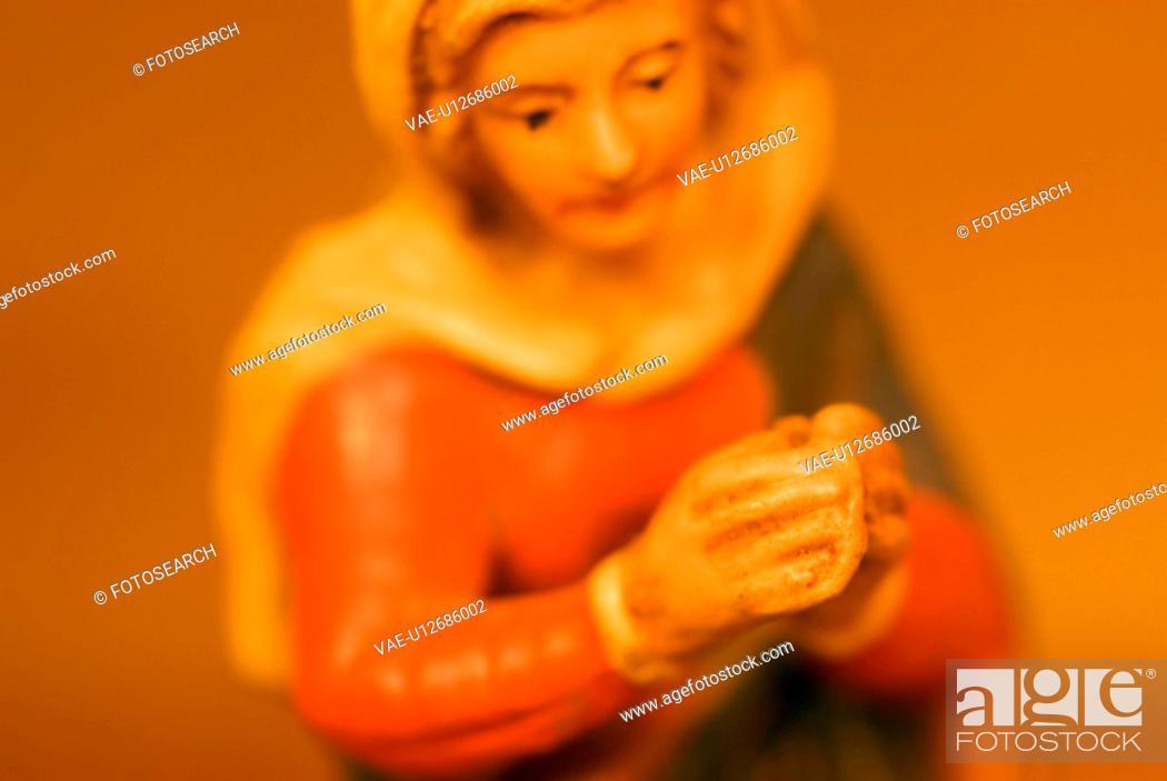 Stock Photo: calf, austria, brauchtum, betlehem, belief, Christmas, advent.