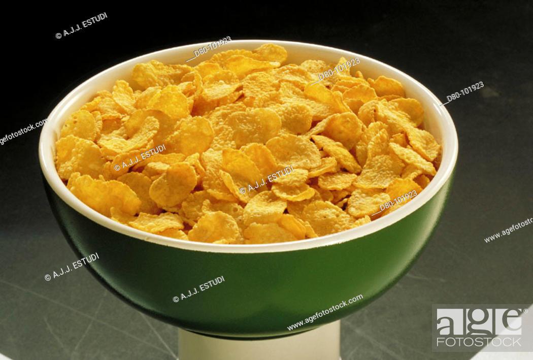 Stock Photo: Cereals.