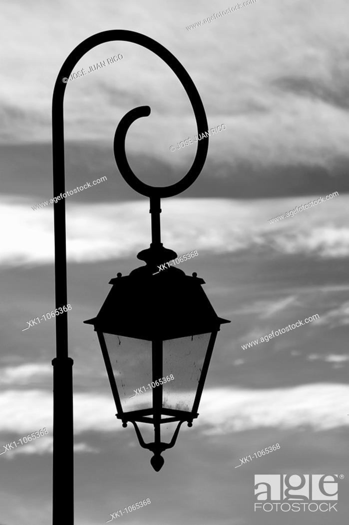 Stock Photo: Street lamp.