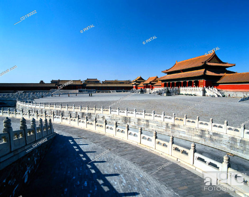 Stock Photo: Imperial Palace. Beijing. China.