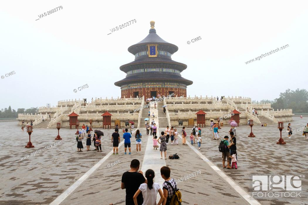 Imagen: Beijing, China - The view at the Temple of Heaven in the daytime.