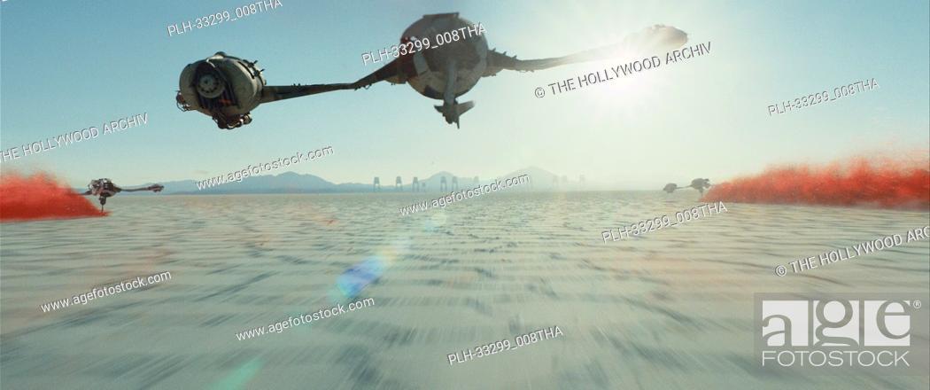 """Stock Photo: """"""""""""Star Wars: The Last Jedi"""""""" (2017) Lucasfilm Ltd. Scene Still."""