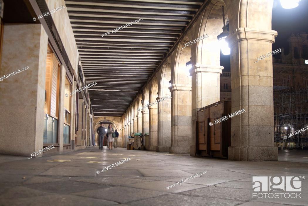 Stock Photo: Main Square, Salamanca, Spain.