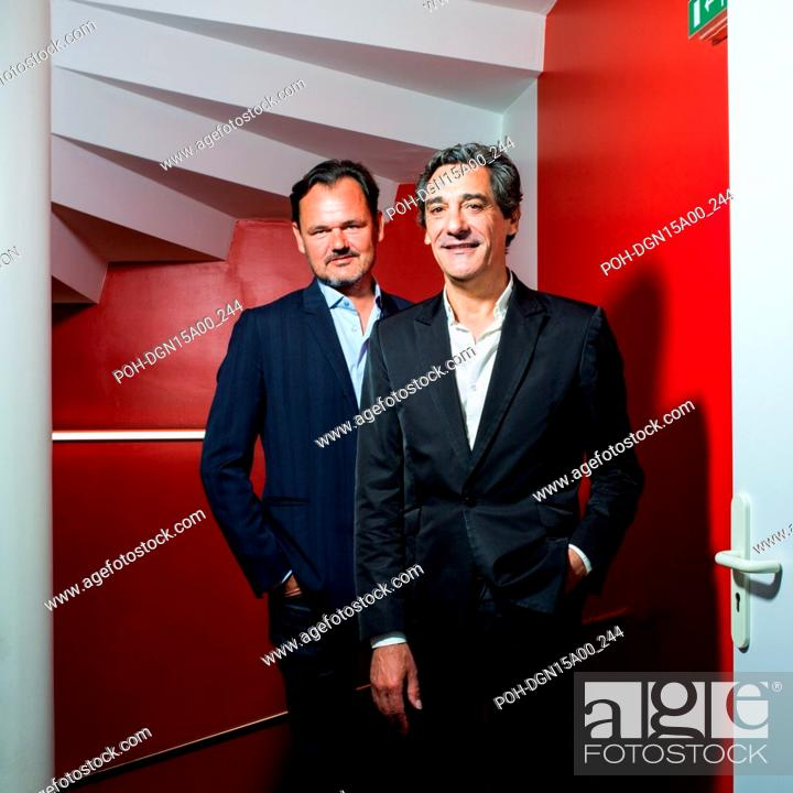 Guillaume Pannaud (left), CEO of TBWA France, and Serge Papin (right
