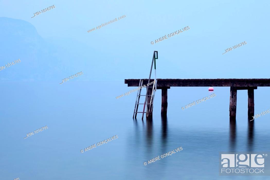 Stock Photo: Lago di Garda, Italy.