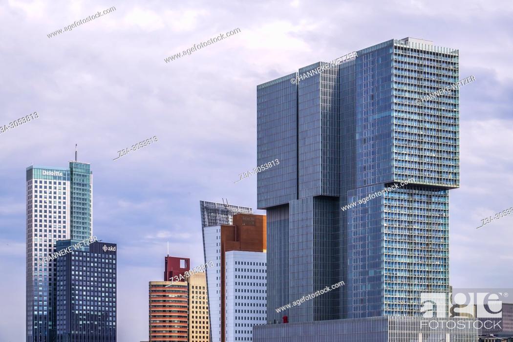 Photo de stock: Netherlands, County of Holland, Rotterdam, Kop van Zuid.