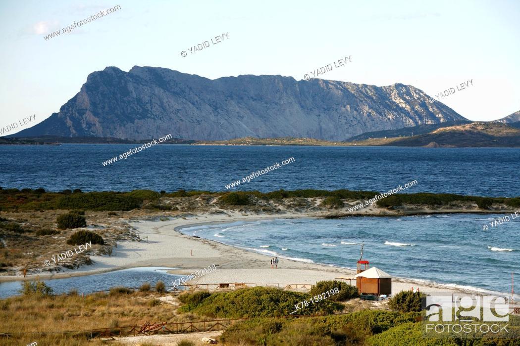 Stock Photo: San Teodoro beach, Sardinia, Italy.
