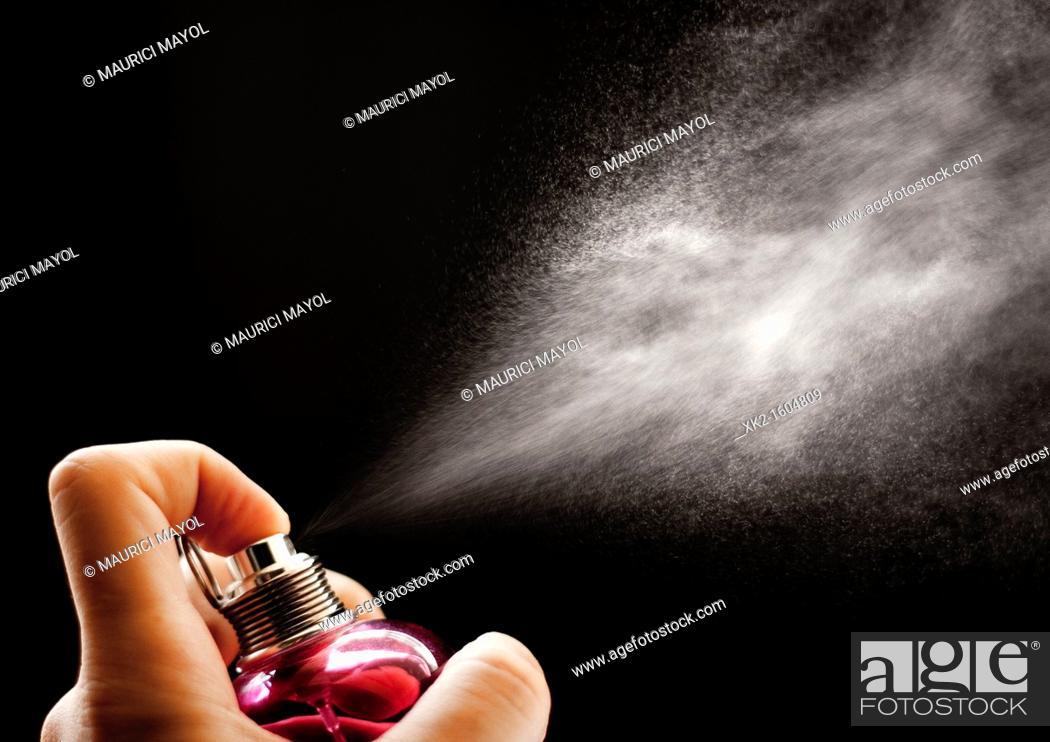 Stock Photo: fragance vaporization.