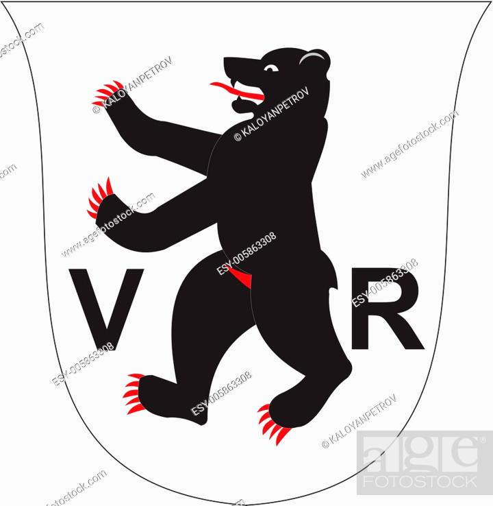 Stock Vector: Appenzellausser coa.